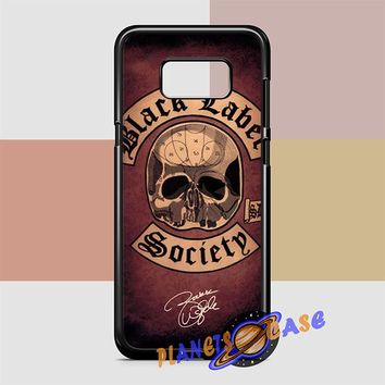 Black Label Society Samsung Galaxy S8 Case Planetscase.com