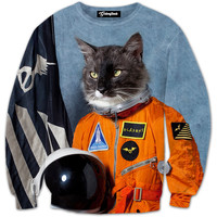 First Cat in Space Crewneck
