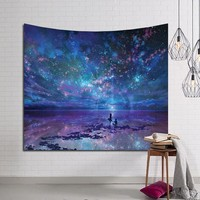Blue Starry Tapestry