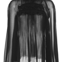 Ruffled Neck Blouse | Moda Operandi