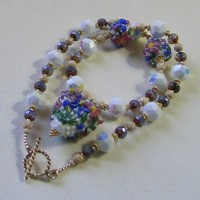 April Showers Bring May Flowers Beaded by KaransBeadedGarden