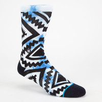 Stance Sutter Mens Athletic Socks Blue One Size For Men 24885320001