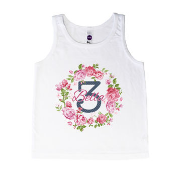 Birthday Rose Wreath - Tank
