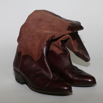 Vintage Cowboy Style Boots