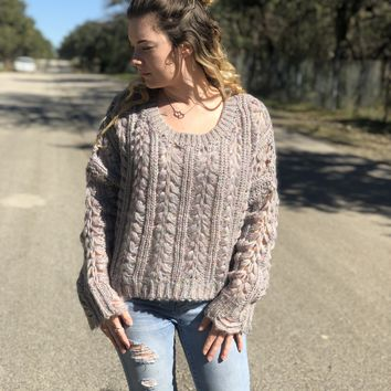 Chunky Cottoncandy Sweater