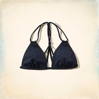 Double Strap Triangle Swim Top