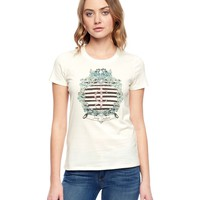 Logo Jc Regent Scroll Tee by Juicy Couture