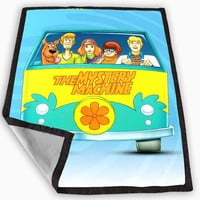Scooby Doo in Car Blanket for Kids Blanket, Fleece Blanket Cute and Awesome Blanket for your bedding, Blanket fleece *