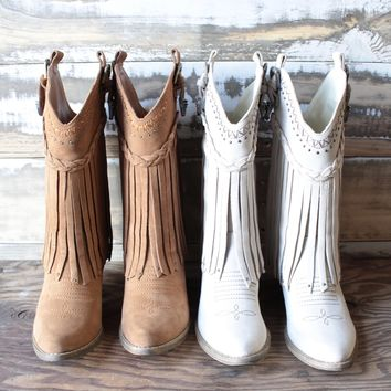 very volatile - pasa suede western boots (more colors)