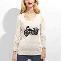 Volcom Bad Toda Stone Motorcycle Sweater