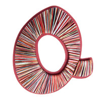 I liked this design on #Fab. Yarn Wrapped Letter Q