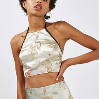 Oriental halter top by Topshop Finds - Tops - Clothing