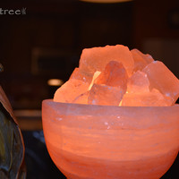 Serenity Bowl Salt Lamp