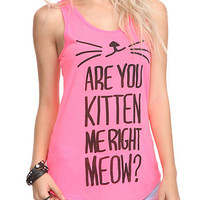 Are You Kitten Me Girls Tank Top | Hot Topic