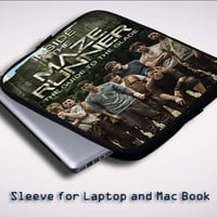 The Maze Runner movie Z0696 Sleeve for Laptop, Macbook Pro, Macbook Air (Twin Sides)