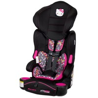 Hello Kitty Pin Wheel Hybrid 3-in-1 Booster Car Seat by Baby Trend (Pink)