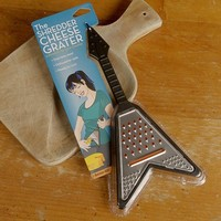 Shredder Guitar Cheese Grater - Black