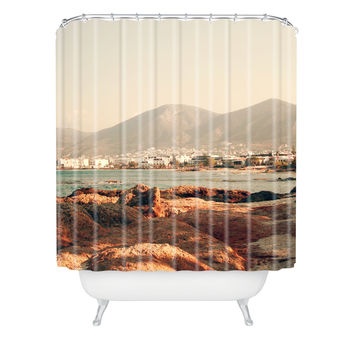 Catherine McDonald Hersonissos Shower Curtain
