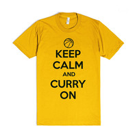 Keep Calm and Stephen Curry On Golden State T-Shirt
