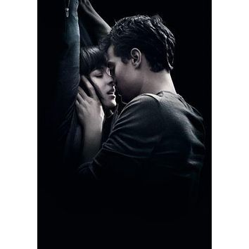 Fifty Shades Of Grey poster Metal Sign Wall Art 8in x 12in