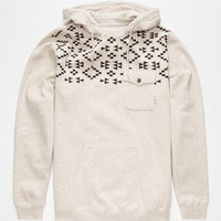 Vans Robley Mens Hoodie Cream  In Sizes