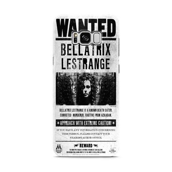 Bellatrix Lestrange Wanted Harry Potter Movies Samsung Galaxy S8 | Galaxy S8 Plus Case