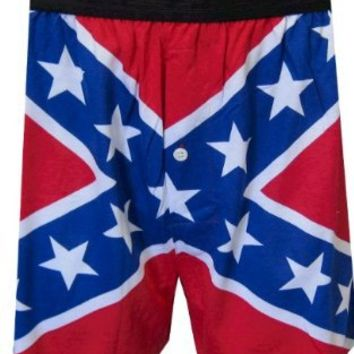 Rebel Flag Engineered Boxers for men:Amazon:Clothing