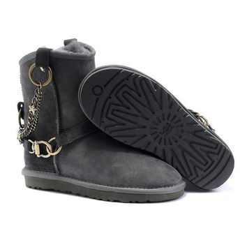 Black Friday Ugg Boots New Arrival 5888 Grey For Women 96 86