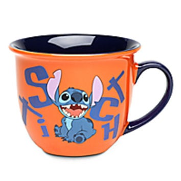 Stitch Mug with Lip