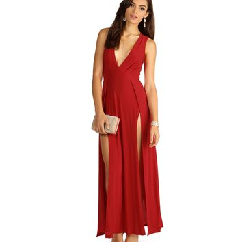 Red To The Max Dress