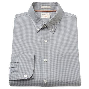 Dockers Checked Casual Button-Down Shirt