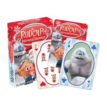 Rudolph The Red Nosed Reindeer Playing Cards