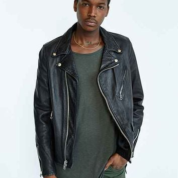 Schott X UO Beatdown Perfecto Leather Jacket