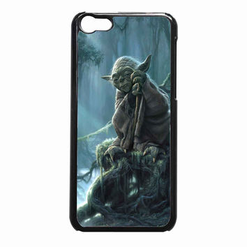 Star Wars Yoda Art Wilma80ca 0c386247-3034-4d69-bd74-cf23066e0606 FOR iPhone 5C CASE *NP*