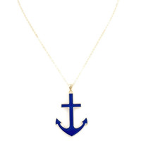 Braden Anchor Bay Nautical Necklace