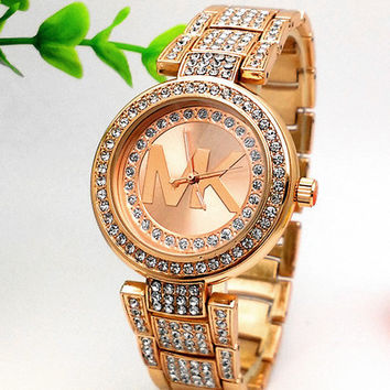 Stylish Fashion Diamond Designer Watch ON SALE With Thanksgiving&Christmas Gift Box= 4121347012