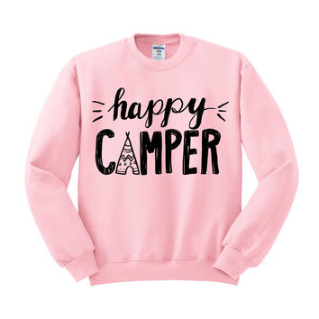 Happy Camper Crewneck Sweatshirt