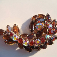 Vintage Delizza & Elster Juliana Brooch D E Jewelry