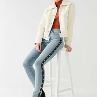 BDG Twig High-Rise Skinny Jean – Grommet Stripe | Urban Outfitters