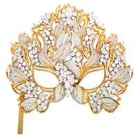 "The Elizabeth Taylor Diamond ""Lachrymosa"" Mask for amfAR 1993"