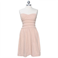 camille strapless dress by Urban Behavior