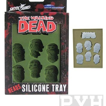 The Walking Dead Ice Cube Silicone Tray