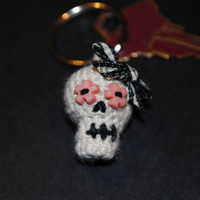 Day of the Dead Keychain :)