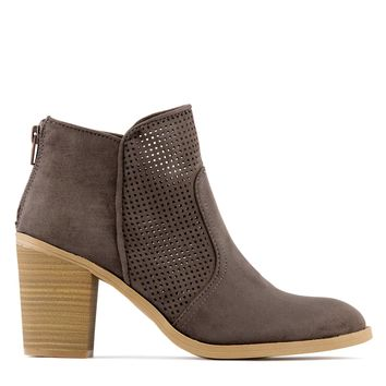 Dolce Vita Jiffy Women's Suede Boot in Granite
