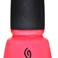 China Glaze Nail Lacquer, Shell-O, 0.5 Fluid Ounce