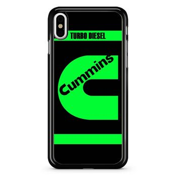Cummins Green 2 iPhone X Case