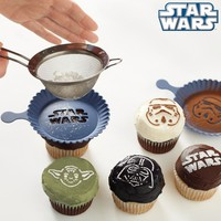 Star Wars Cupcake Stencil Set | The Gadget Flow