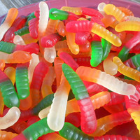 5 pounds gummy worms