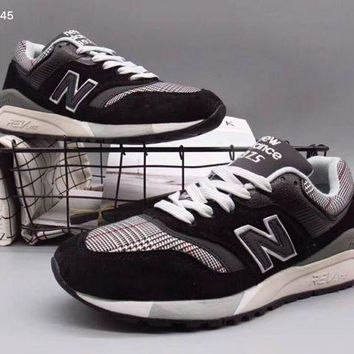 ONETOW new balance fashion trending running sports shoes black grey g a36h my