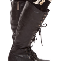 Amberly Leg Warmers - Black